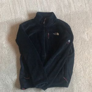 Black fleece North Face
